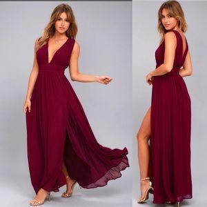 Lulu's Heavenly Hues Maxi Dress